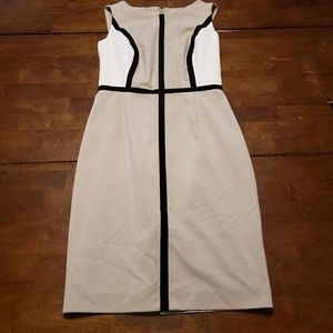 Calvin Klein Colorblock Spring Dress Size 4